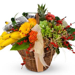 꽃과함께(과일바구니)